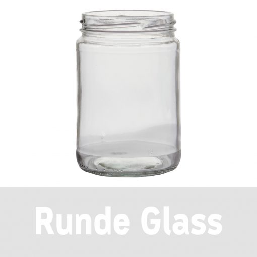 Runde glass